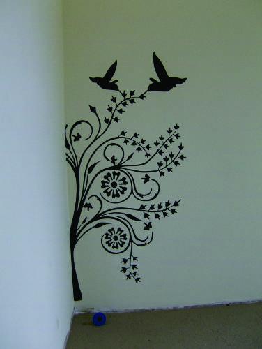 Adesivos De Rosto Para Carnaval ~ adesivo decorativo para parede Comunicaç u00e3o visual